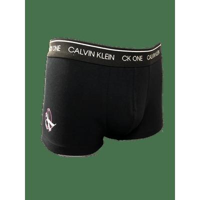 Underwear Trunk Estampa Valentine CK One Preta Cueca Calvin Klein