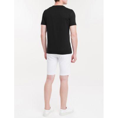 Camiseta Masculina Slim Pride Preta Calvin Klein