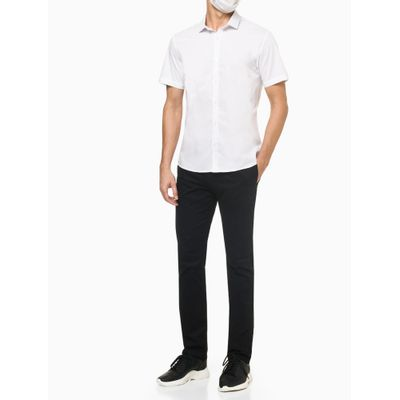Camisa Mc Regular Basic Fio 50/1 - Branco