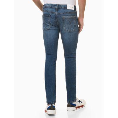 Calça Jeans Masculina Skinny Premium Azul Médio Calvin Klein Jeans