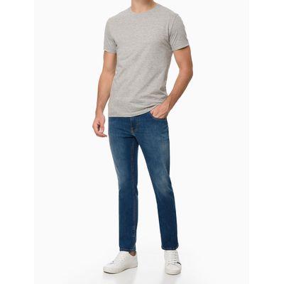Camiseta Masculina Essentials Cinza Mescla Calvin Klein Jeans