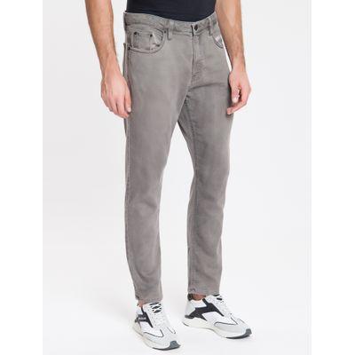 Calça Jeans Five P Taper Sarja Pig - Cinza Claro
