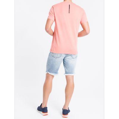 Bermuda Jeans C/ Puídos Clara - Azul Claro