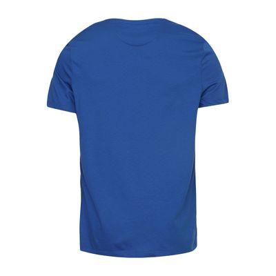 Camiseta Básica Liquid Cotton Dec Redondo - Azul