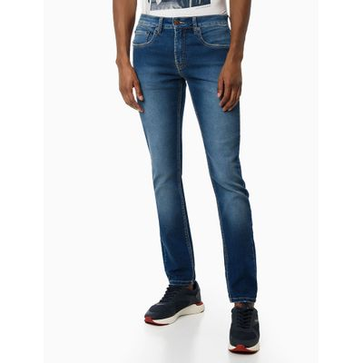 Calca Jeans Five Pockets Super Skinny - Azul Médio