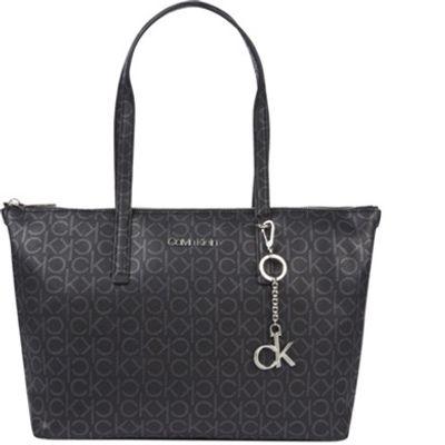 Shopping Bag Monograma - Preto