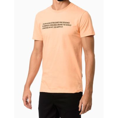 Camiseta Mc Silk Statement - Laranja
