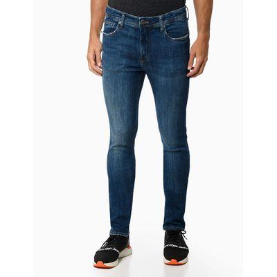 Calça Jeans Five Pockets Body Skinny - Azul Marinho