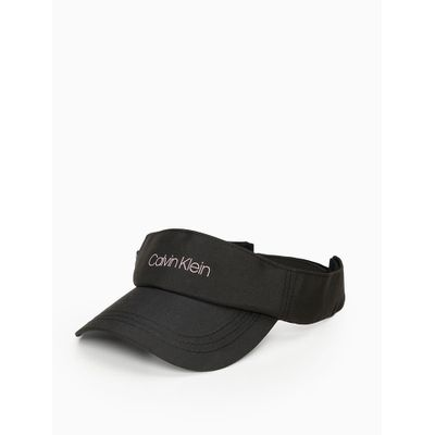 Viseira Swim Aba Curva Nylon Logo Velcro - Preto