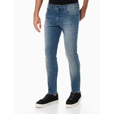 Calça Jeans Super Skinny Confort - Azul Médio