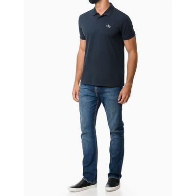 Calça Jeans Five Pockets Pesp. Triplo - Azul Médio