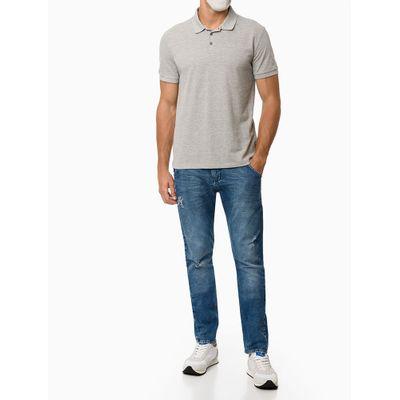 Calça Jeans Five Pockets Athletic Taper - Azul Médio