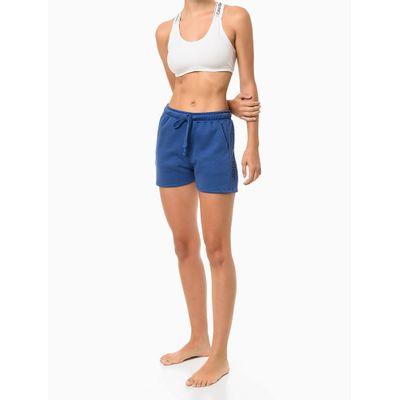 Short Recortes Calvin Klein Gloss - Azul Médio