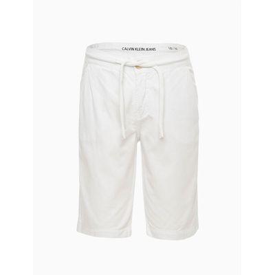 Bermuda Color Chino Sarja Reat - Branco