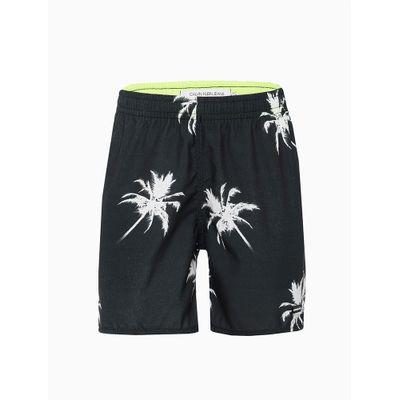 Shorts Água Palmeiras - Preto