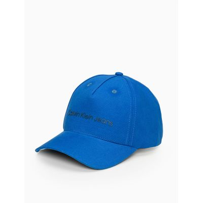 Boné Ckj Aba Curva 5 Gomos Sarja Logo Pl - Azul