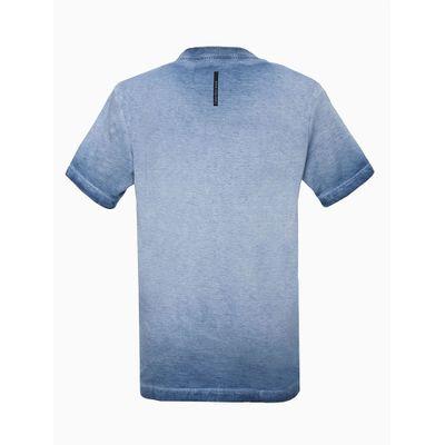 Tshirt Mc Mm 40 Tinto Sujo Re-Issue - Azul Médio