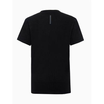 Tshirt Mc Mm Rolo Logo Quebrado - Preto