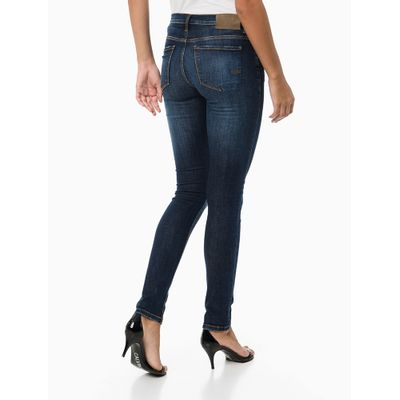 Calça Jeans 5-Pckts Jegging - Azul Marinho