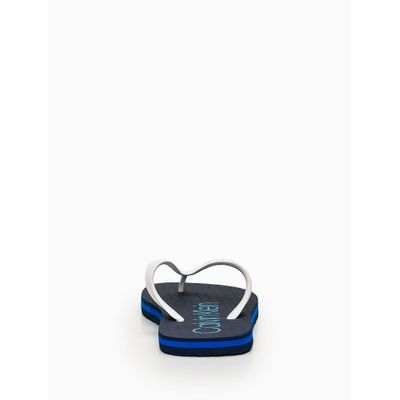 Chinelo Swim Silk Borracha - Azul Marinho