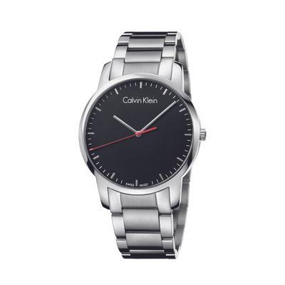 Relógio Calvin Klein Pulseira De Aço Prata