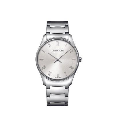 Relógio Calvin Klein Pulseira De Pulseira Aço Prata